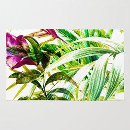 Exotic tropical jungle Rug