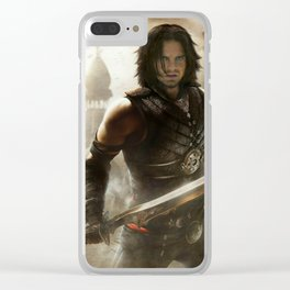 Persian Prince Clear iPhone Case