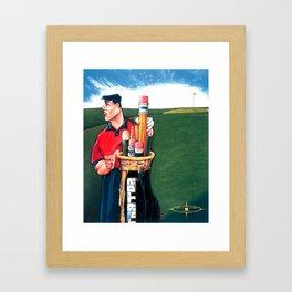 The Illustrators Open Framed Art Print