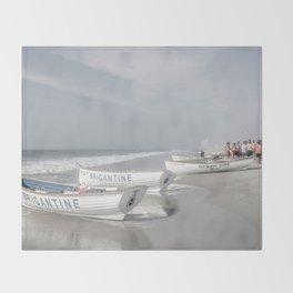 Beach Patrol Brigantine Throw Blanket