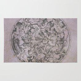 Vintage Constellations & Astrological Signs   Beetroot Paper Rug