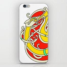Viking Dragon of Infinite Warmth iPhone Skin
