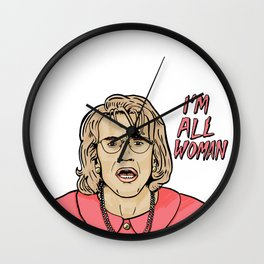 All Woman Wall Clock