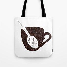 Coffee Spoons Tote Bag