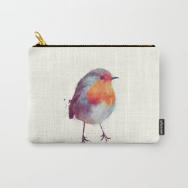 Winter Robin Carry-All Pouch