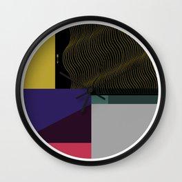 Segments #4 Wall Clock