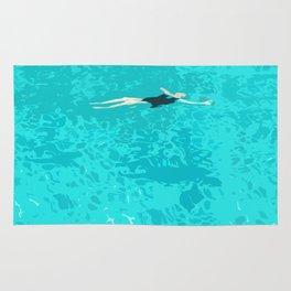 Ophelia Forgot Her Snorkel Again Rug