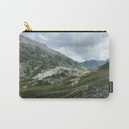 Mountains of Switzerland - Greina High Plain Granite Formation Carry-All Pouch