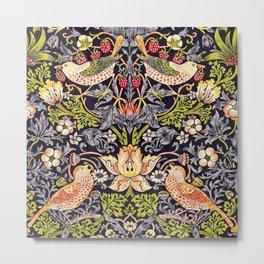 William Morris Strawberry Thief Art Nouveau Painting Metal Print