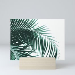Palm Leaves Green Vibes #8 #tropical #decor #art #society6 Mini Art Print