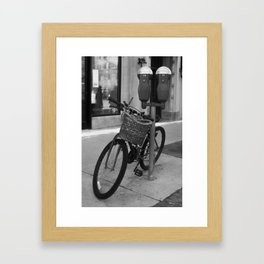 Obvious Bicycle Framed Art Print