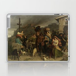 fire in the Sabine mountains Laptop & iPad Skin