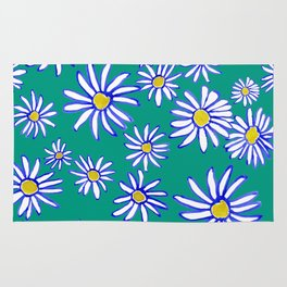 Daisy Florals Rug