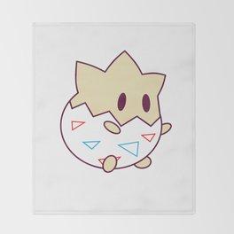 Kawaii Chibi Togepi Throw Blanket