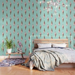 FLAMINGO CONE Wallpaper