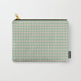 Town Fruit Pattern: Peach Carry-All Pouch