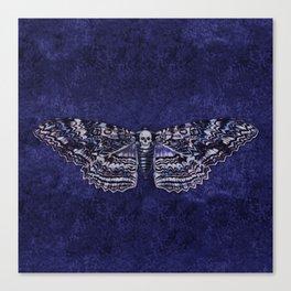Deathshead Moth Canvas Print