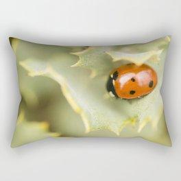 Ladybird #1 Rectangular Pillow
