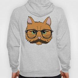 Mustache Cat Hoody