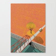 Autumn sunshine Canvas Print