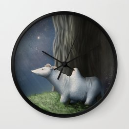 A New Perspective Wall Clock