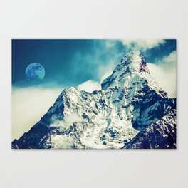Everest Base Camp Trekking Route, Khumjung, Nepal 1 Canvas Print