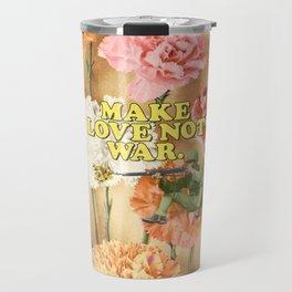 Make Love Not War Travel Mug