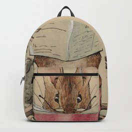 Frontispiece. The Tailor Mouse - Beatrix Potter - 1902 Backpack