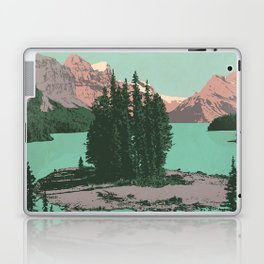 Jasper National Park Poster Laptop & iPad Skin
