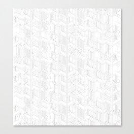building pattern 2 Canvas Print