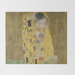The Kiss Throw Blanket