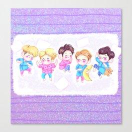 SHINee Sleepover Canvas Print
