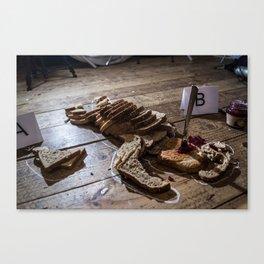 Brown Bread  Canvas Print