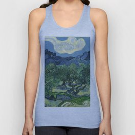 Olive Trees by Vincent van Gogh Unisex Tank Top