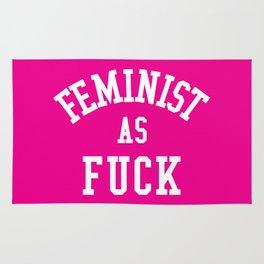 Feminist as Fuck Rug
