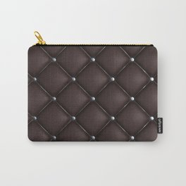 Dark quilted texture Carry-All Pouch
