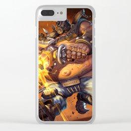 roadhog watch Clear iPhone Case
