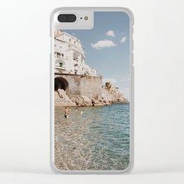 Amalfi Coast Clear iPhone Case