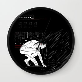 nit:e:scape // android underground Wall Clock