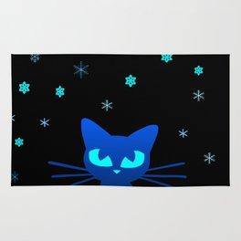 Glow in the Dark Cat Rug