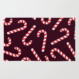Candy Canes! Rug
