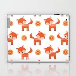 Orange Fox Laptop & iPad Skin