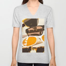 Let the sun shine - welcome spring and summer! Unisex V-Neck
