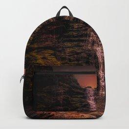 Tintagel beach waterfall Backpack