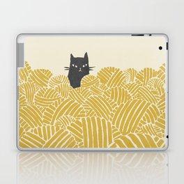 Cat and Yarn Laptop & iPad Skin