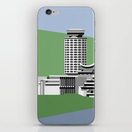 Soviet Modernism: Youth Palace in Yerevan, Armenia iPhone Skin