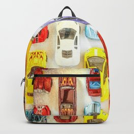 Vintage Toy Cars Backpack