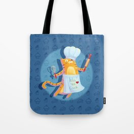 Baking with Cat: Step One Tote Bag
