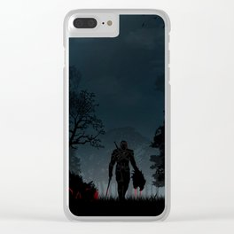 Witcher   Warriors Landscapes Serries Clear iPhone Case