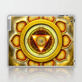 "Manipura Chakra - Solar Plexus Chakra Series ""Open Chakra"" Laptop & iPad Skin"